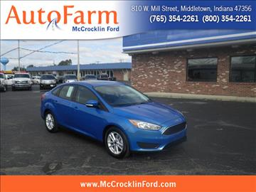 2016 Ford Focus for sale in Middletown, IN