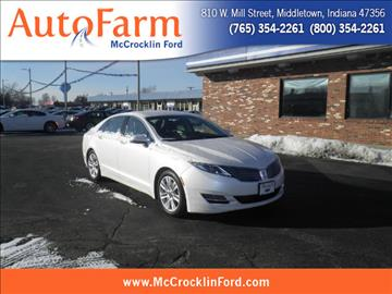 2014 Lincoln MKZ for sale in Middletown, IN