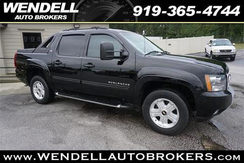 2012 Chevrolet Avalanche for sale in Wendell, NC