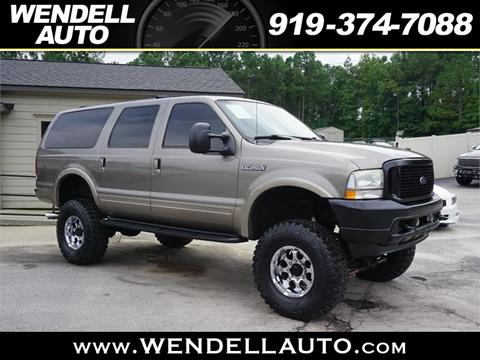 Ford Excursion For Sale In Wendell Nc