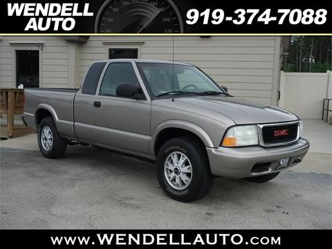 2003 GMC Sonoma for sale in Wendell, NC