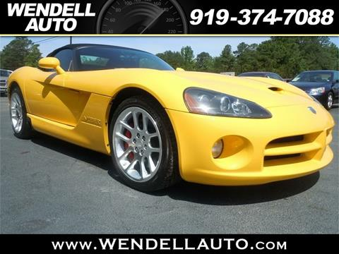2005 Dodge Viper for sale in Wendell, NC