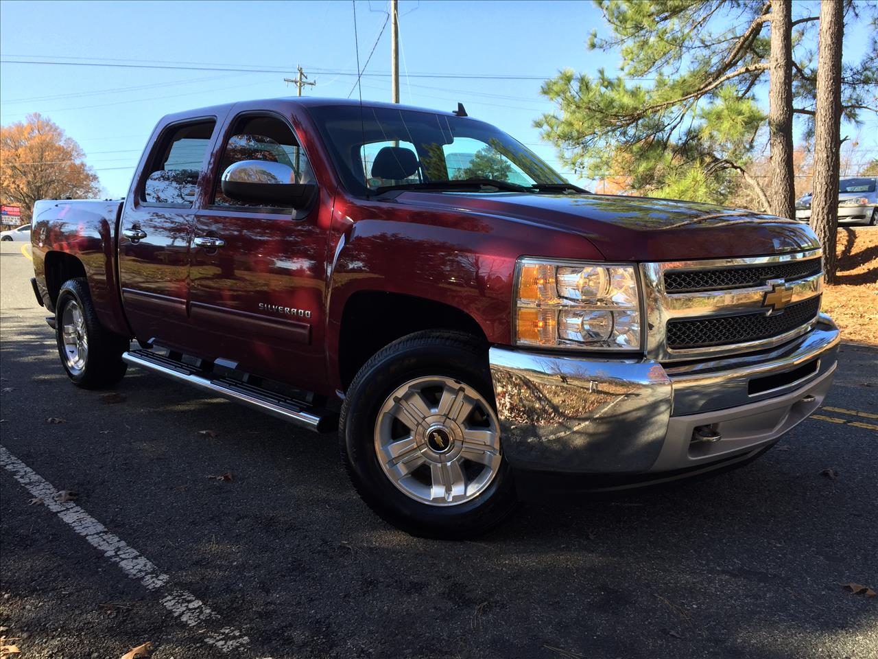 2013 chevrolet silverado 1500 4x4 lt 4dr crew cab 5 8 ft sb in durham nc the auto finders. Black Bedroom Furniture Sets. Home Design Ideas