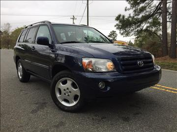 2005 Toyota Highlander for sale in Durham, NC