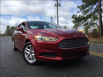2013 Ford Fusion for sale in Durham, NC