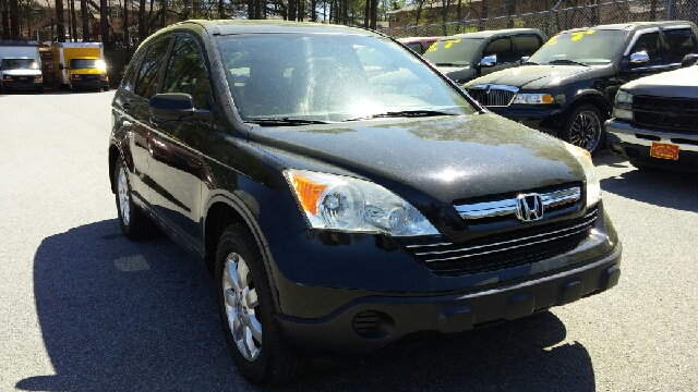 2007 HONDA CR-V EX 4DR SUV black 2-stage unlocking doors abs - 4-wheel active head restraints -