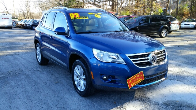 2009 VOLKSWAGEN TIGUAN SE 4DR SUV blue 2-stage unlocking doors abs - 4-wheel additional key - r