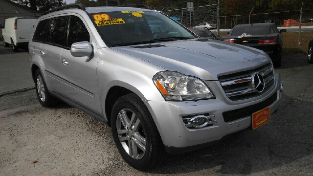 2009 MERCEDES-BENZ GL-CLASS GL450 4MATIC AWD 4DR SUV silver 2-stage unlocking doors 3rd row moon