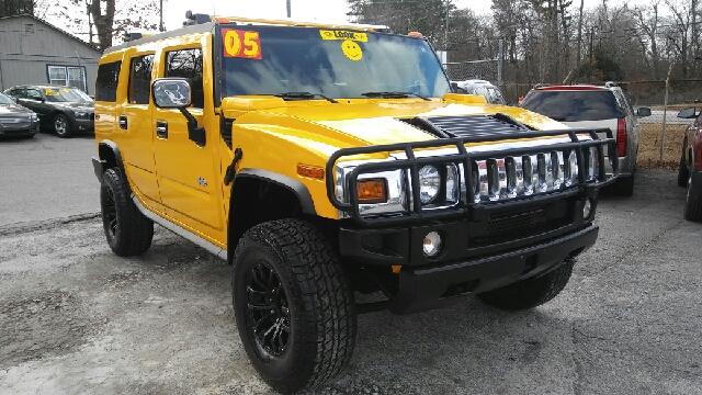 2005 HUMMER H2 BASE 4WD 4DR SUV yellow 4wd selector - electronic hi-lo abs - 4-wheel anti-theft