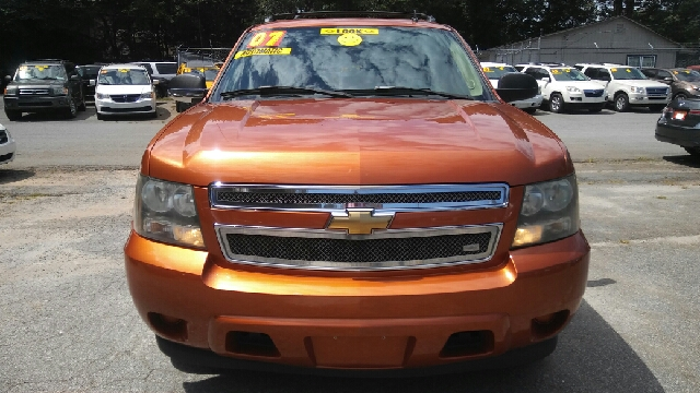 2007 CHEVROLET AVALANCHE LS 1500 4DR CREW CAB SB orange 2-stage unlocking doors abs - 4-wheel a