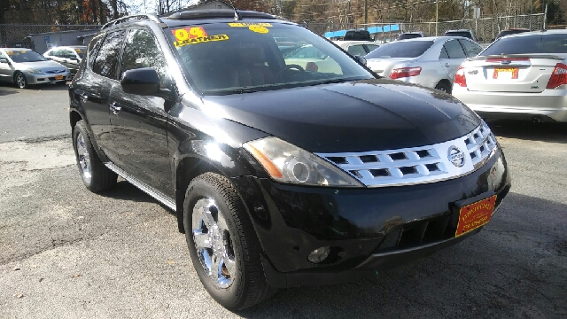 2004 NISSAN MURANO SE AWD 4DR SUV black abs - 4-wheel anti-theft system - alarm center console