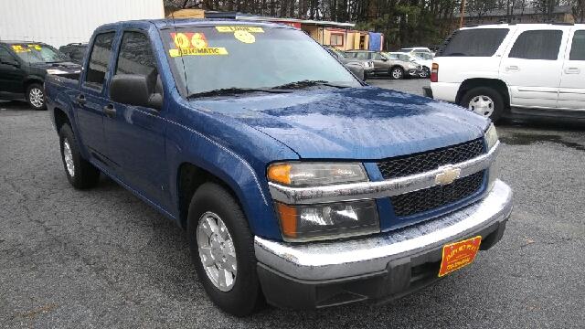 2006 CHEVROLET COLORADO LT 4DR CREW CAB SB blue abs - 4-wheel airbag deactivation - occupant sen