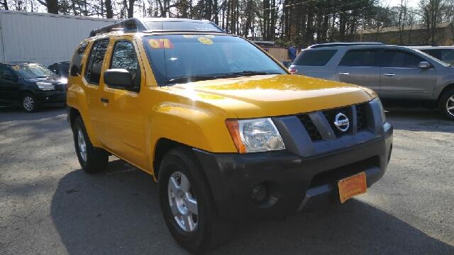2007 NISSAN XTERRA SE 4DR SUV yellow 2-stage unlocking doors abs - 4-wheel active head restrain