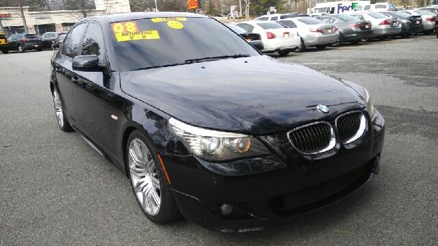 2008 BMW 5 SERIES 550I 4DR SEDAN LUXURY dark blue abs - 4-wheel active head restraints - dual fr