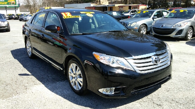 2012 TOYOTA AVALON BASE 4DR SEDAN black 2-stage unlocking doors abs - 4-wheel active head restr