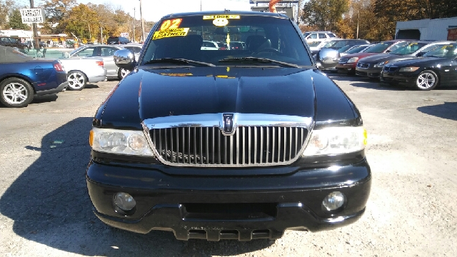 2002 LINCOLN BLACKWOOD BASE 4DR CREW CAB SB 2WD black abs - 4-wheel adjustable pedals - power a