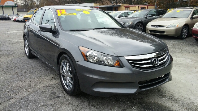 2012 HONDA ACCORD LX 4DR SEDAN 5A grey abs - 4-wheel active head restraints - dual front air fi