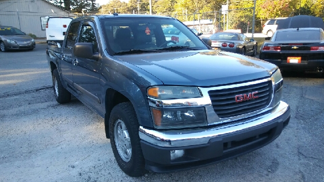 2006 GMC CANYON SLE 4DR CREW CAB SB blue abs - 4-wheel airbag deactivation - occupant sensing pa