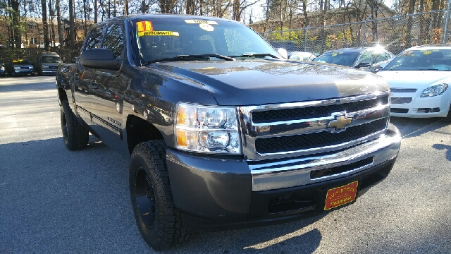 2011 CHEVROLET SILVERADO 1500 LT 4X2 4DR CREW CAB 58 FT SB dark gray abs - 4-wheel alternator