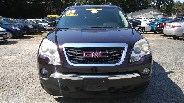 2009 GMC ACADIA SLT 1 4DR SUV purple 2-stage unlocking doors airbag deactivation - occupant sens