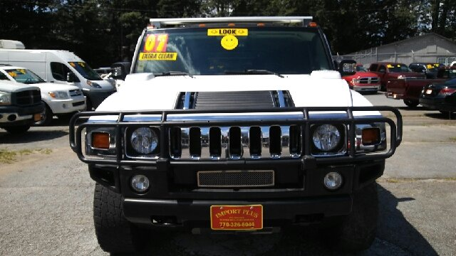 2007 HUMMER H2 BASE 4DR SUV 4WD white 2-stage unlocking doors 4wd selector - electronic hi-lo 4