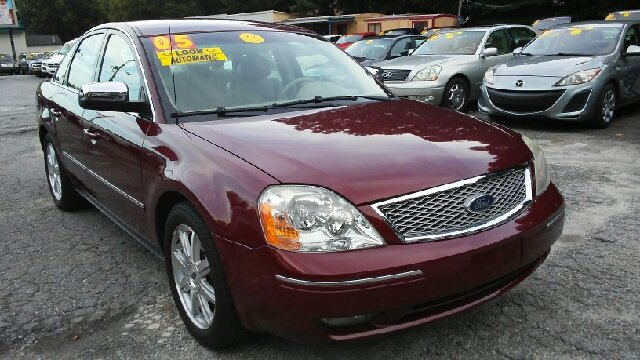 2005 FORD FIVE HUNDRED LIMITED 4DR SEDAN burgundy abs - 4-wheel anti-theft system - alarm cente