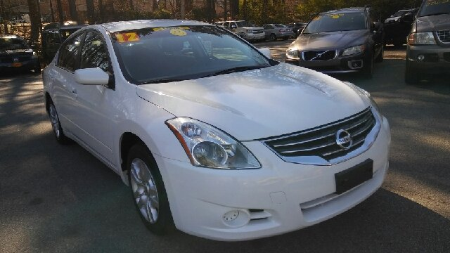2012 NISSAN ALTIMA 25 S 4DR SEDAN white 2-stage unlocking doors abs - 4-wheel active head rest