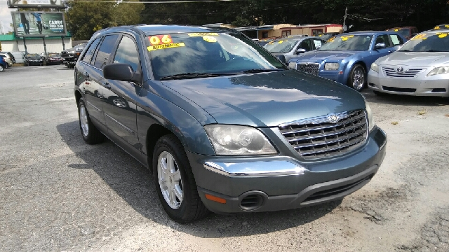 2006 CHRYSLER PACIFICA TOURING 4DR WAGON gray abs - 4-wheel air filtration airbag deactivation