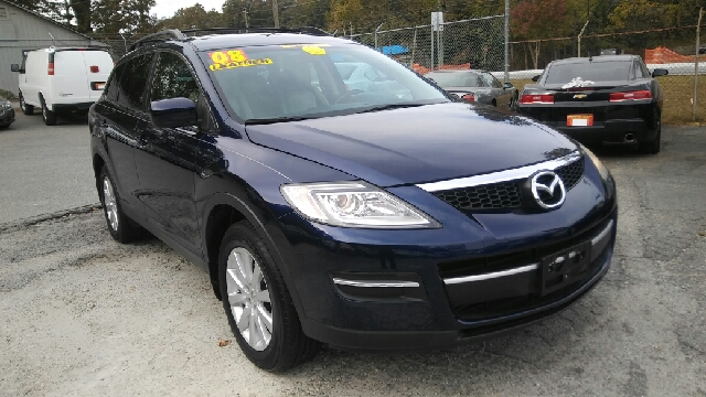 2008 MAZDA CX-9 GRAND TOURING AWD 4DR SUV blue 2-stage unlocking doors 4wd type - on demand abs