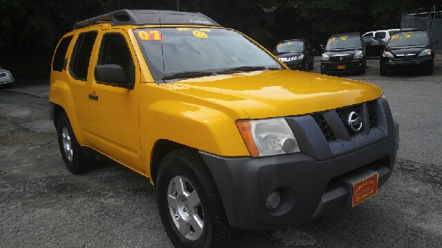 2007 NISSAN XTERRA X 4DR SUV 4L V6 5A yellow abs - 4-wheel active head restraints - dual front