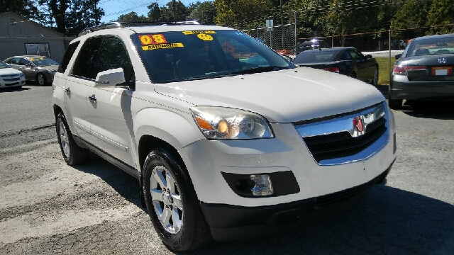2008 SATURN OUTLOOK XR 4DR SUV white 2-stage unlocking doors abs - 4-wheel airbag deactivation