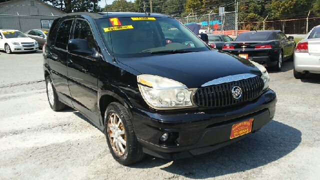 2007 BUICK RENDEZVOUS CXL 4DR SUV black 2-stage unlocking doors abs - 4-wheel airbag deactivati