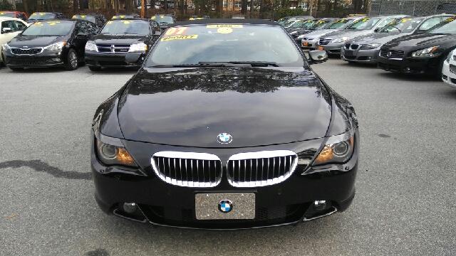 2007 BMW 6 SERIES 650I 2DR CONVERTIBLE black 2-stage unlocking doors abs - 4-wheel active suspe
