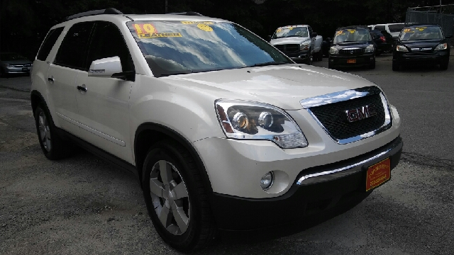 2010 GMC ACADIA SLT 1 4DR SUV white 2-stage unlocking doors abs - 4-wheel airbag deactivation -