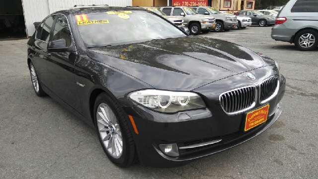2011 BMW 5 SERIES 535I 4DR SEDAN dark gray 2-stage unlocking doors abs - 4-wheel active head re