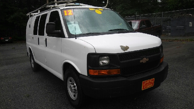 2012 CHEVROLET EXPRESS CARGO 3500 3DR CARGO VAN W 1WT white abs - 4-wheel airbag deactivation -