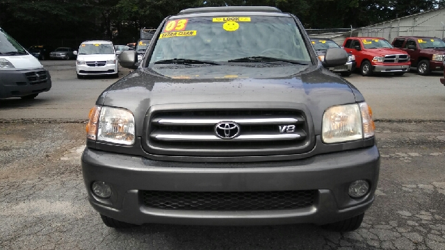 2003 TOYOTA SEQUOIA LIMITED 4DR SUV dark gray abs - 4-wheel antenna type - power anti-theft sys