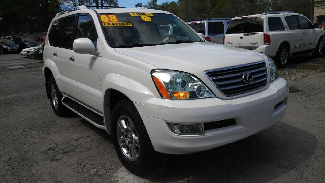 2008 LEXUS GX 470 BASE AWD 4DR SUV white 2-stage unlocking doors 4wd type - full time abs - 4-w