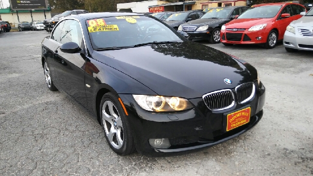 2008 BMW 3 SERIES 328I 2DR CONVERTIBLE black 2-stage unlocking doors abs - 4-wheel air filtrati