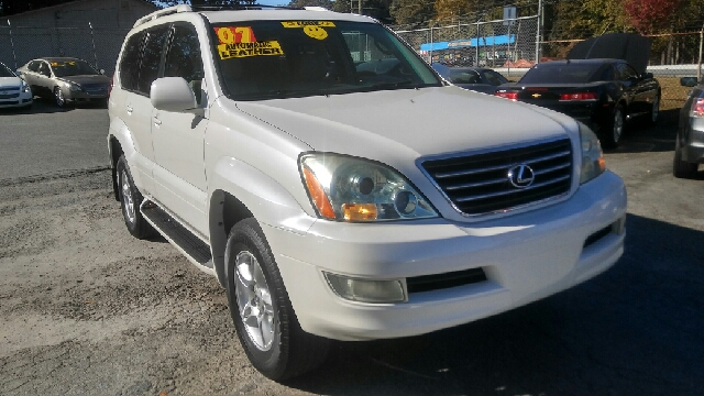 2007 LEXUS GX 470 BASE 4DR SUV 4WD pearl 2-stage unlocking doors 4wd type - full time abs - 4-w