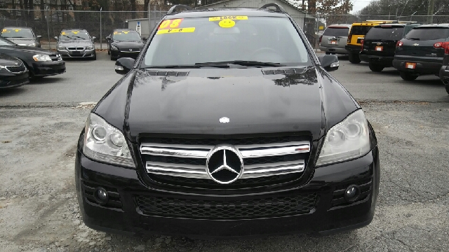 2008 MERCEDES-BENZ GL-CLASS GL 450 4MATIC AWD 4DR SUV black 2-stage unlocking doors 3rd row moon