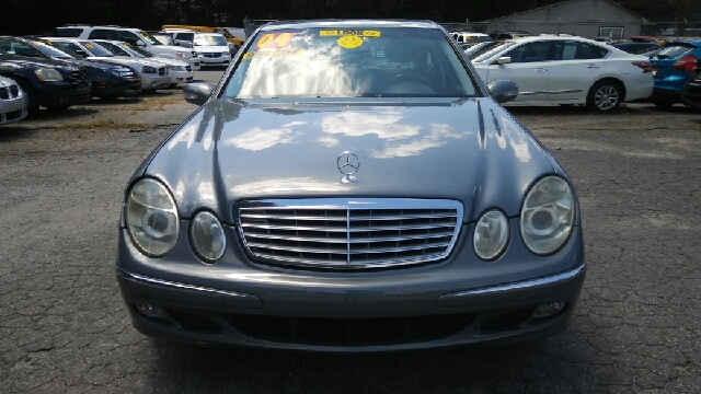 2004 MERCEDES-BENZ E-CLASS E 320 4DR SEDAN gray abs - 4-wheel anti-theft system - alarm center