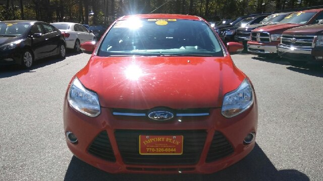 2012 FORD FOCUS SEL 4DR HATCHBACK yellow abs - 4-wheel air filtration airbag deactivation - occ