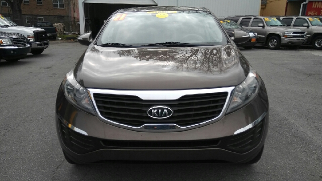 2011 KIA SPORTAGE LX AWD 4DR SUV brown 2-stage unlocking doors 4wd type - on demand abs - 4-whe