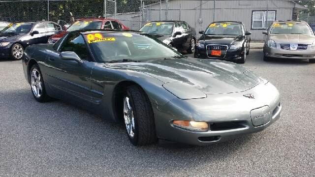 2004 CHEVROLET CORVETTE BASE 2DR COUPE unspecified abs - 4-wheel anti-theft system - alarm cent