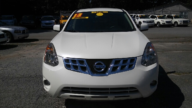 2013 NISSAN ROGUE SV 4DR CROSSOVER white 2-stage unlocking doors abs - 4-wheel air filtration
