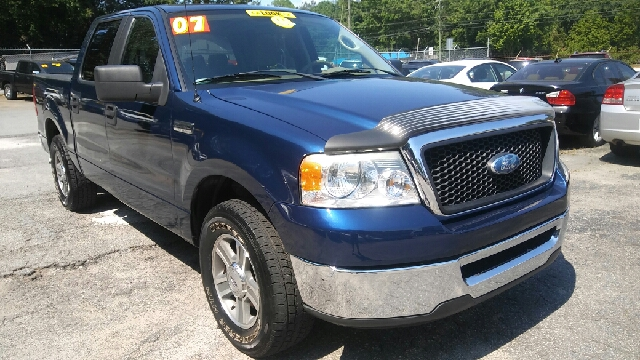 2007 FORD F-150 XLT 4DR SUPERCREW STYLESIDE 65 blue 2-stage unlocking doors abs - 4-wheel airb