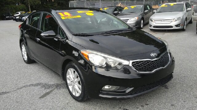 2014 KIA FORTE EX 4DR SEDAN black 2-stage unlocking doors abs - 4-wheel airbag deactivation - o