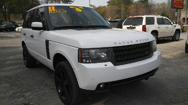 2011 LAND ROVER RANGE ROVER HSE 4X4 4DR SUV white 2-stage unlocking doors 4wd selector - electro