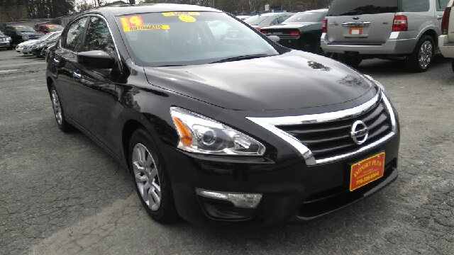 2014 NISSAN ALTIMA 25 S 4DR SEDAN black 2-stage unlocking doors abs - 4-wheel active head rest